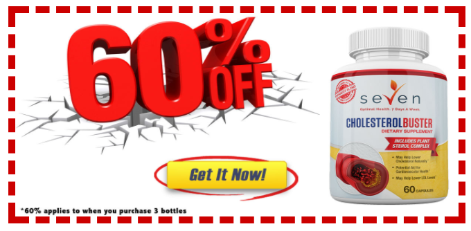 Cholesterol Buster 60% OFF