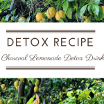 Recipe: Charcoal Lemonade Detox Drink