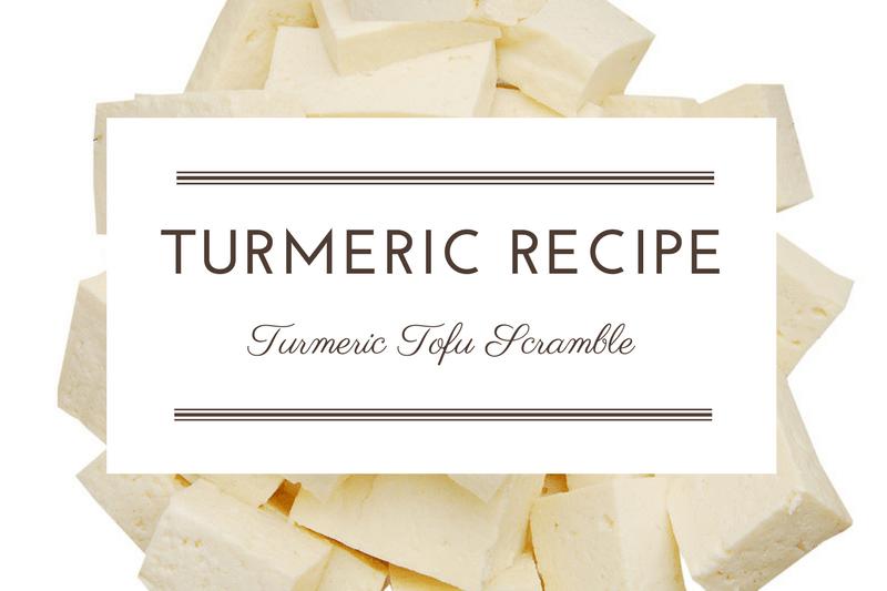 Recipe: Turmeric Tofu Scramble