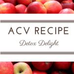 Recipe: Apple Cider Detox Delight