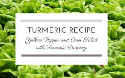 Recipe: Yellow Pepper and Corn Salad with Turmeric Dressing